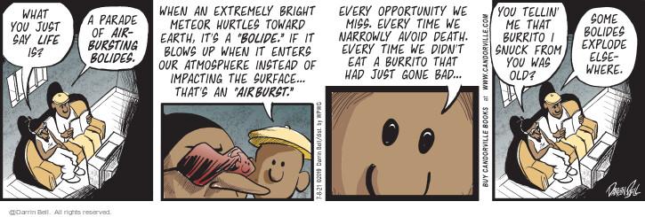 Comic Strip Darrin Bell  Candorville 2021-07-08 air