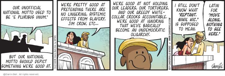 Comic Strip Darrin Bell  Candorville 2021-07-09 but