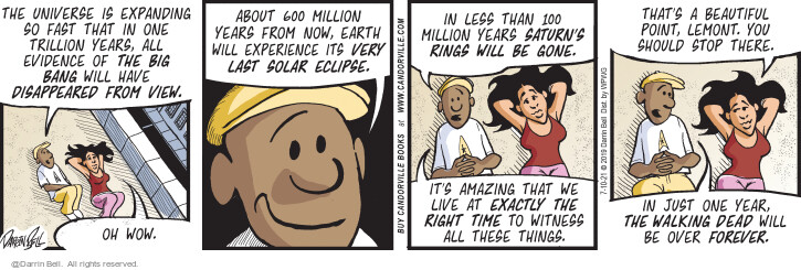 Comic Strip Darrin Bell  Candorville 2021-07-10 last