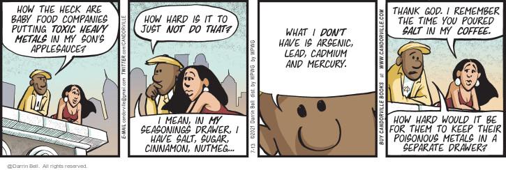 Comic Strip Darrin Bell  Candorville 2021-07-13 just