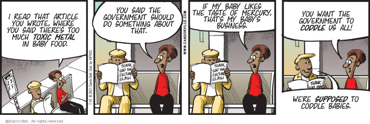 Comic Strip Darrin Bell  Candorville 2021-07-16 there