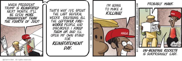 Comic Strip Darrin Bell  Candorville 2021-07-23 last