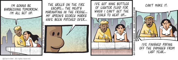 Comic Strip Darrin Bell  Candorville 2021-07-26 last