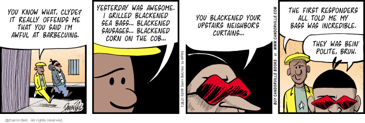 Comic Strip Darrin Bell  Candorville 2021-07-29 tell