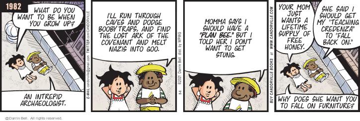 Comic Strip Darrin Bell  Candorville 2021-08-06 tell