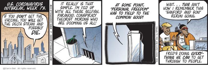 Comic Strip Darrin Bell  Candorville 2021-08-20 can
