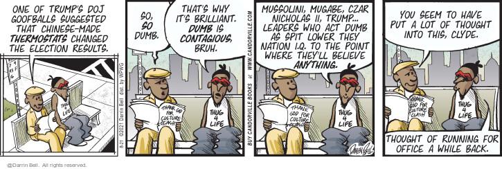 Comic Strip Darrin Bell  Candorville 2021-08-21 election
