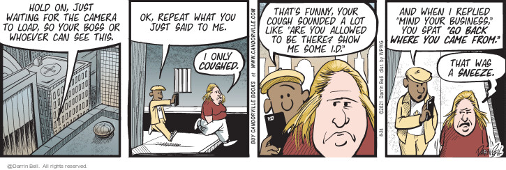 Comic Strip Darrin Bell  Candorville 2021-08-24 can