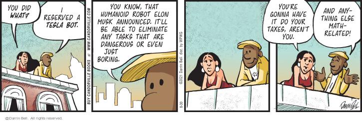 Comic Strip Darrin Bell  Candorville 2021-08-30 aren't
