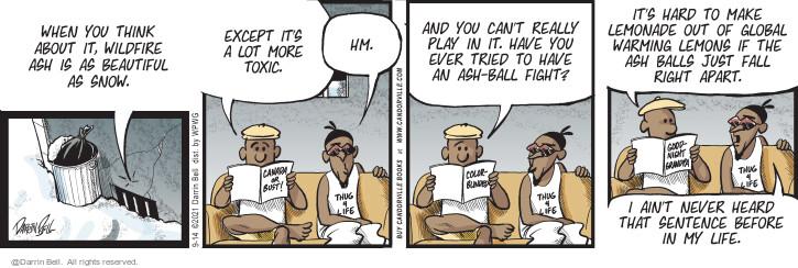 Comic Strip Darrin Bell  Candorville 2021-09-14 environment