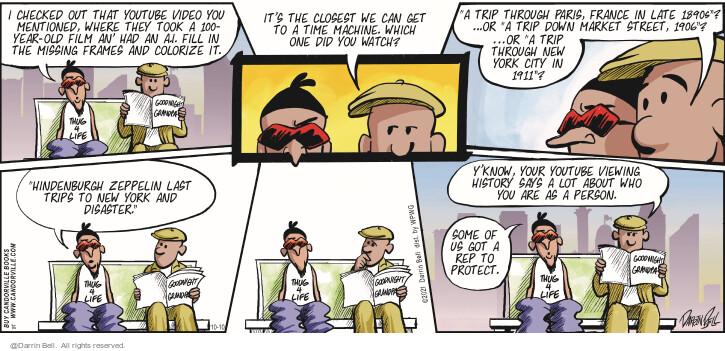 Comic Strip Darrin Bell  Candorville 2021-10-10 can