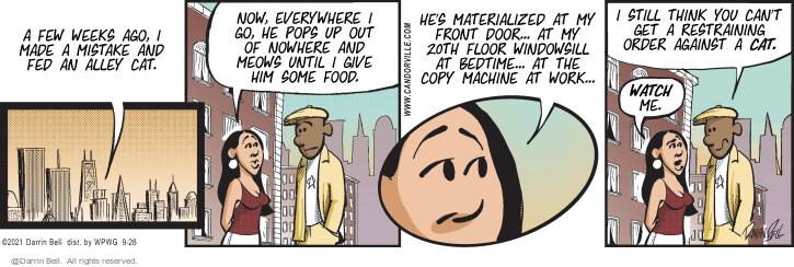 Comic Strip Darrin Bell  Candorville 2021-09-28 can