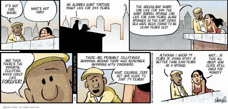Comic Strip Darrin Bell  Candorville 2021-10-24 can