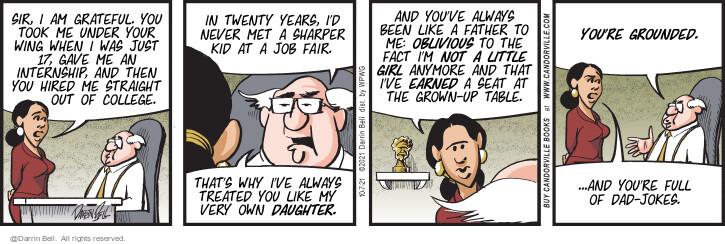 Comic Strip Darrin Bell  Candorville 2021-10-07 straight