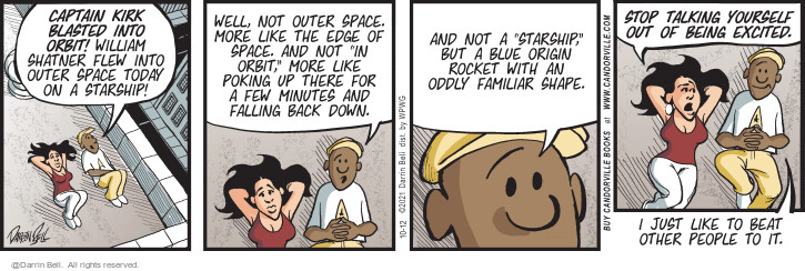Comic Strip Darrin Bell  Candorville 2021-10-12 there
