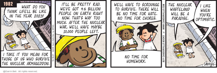 Comic Strip Darrin Bell  Candorville 2021-10-18 there