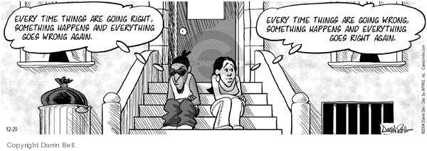 Comic Strip Darrin Bell  Candorville 2004-12-29 date