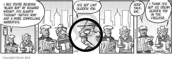 Comic Strip Darrin Bell  Candorville 2004-12-30 age