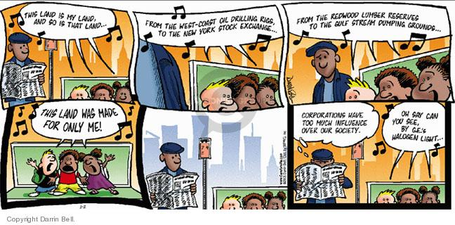 Comic Strip Darrin Bell  Candorville 2005-01-02 York