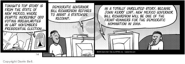 Comic Strip Darrin Bell  Candorville 2005-01-04 2004 election