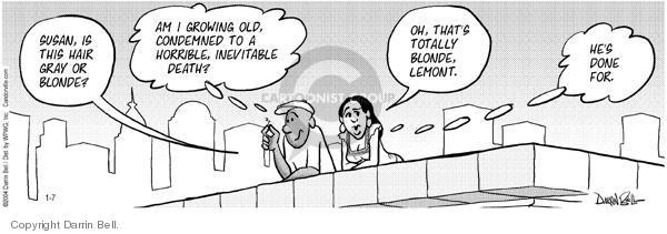 Comic Strip Darrin Bell  Candorville 2005-01-07 color