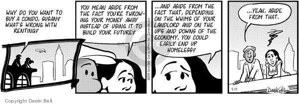 Comic Strip Darrin Bell  Candorville 2005-01-11 investment