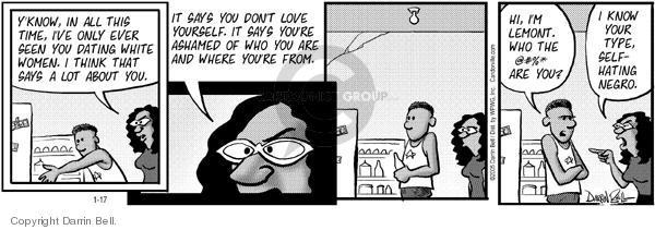 Comic Strip Darrin Bell  Candorville 2005-01-17 mix
