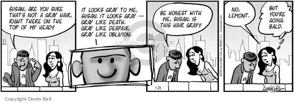 Comic Strip Darrin Bell  Candorville 2005-01-25 despair