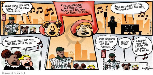 Comic Strip Darrin Bell  Candorville 2005-02-06 love