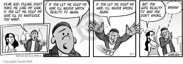 Comic Strip Darrin Bell  Candorville 2005-02-17 lose