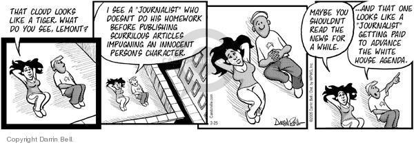 Comic Strip Darrin Bell  Candorville 2005-02-25 shape