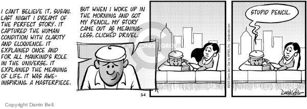 Comic Strip Darrin Bell  Candorville 2005-03-04 believe
