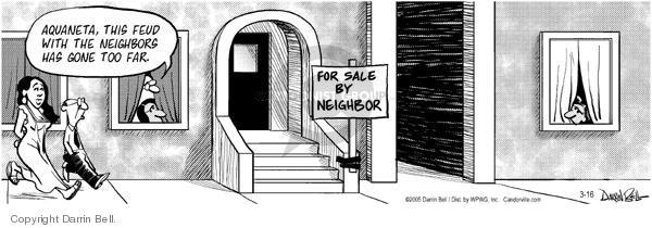 Comic Strip Darrin Bell  Candorville 2005-03-16 neighbor