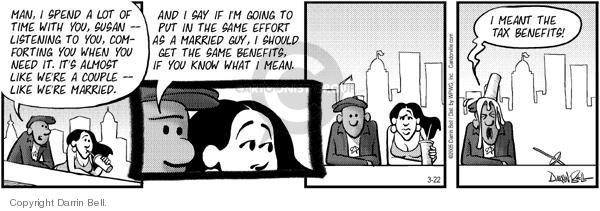 Comic Strip Darrin Bell  Candorville 2005-03-22 tax
