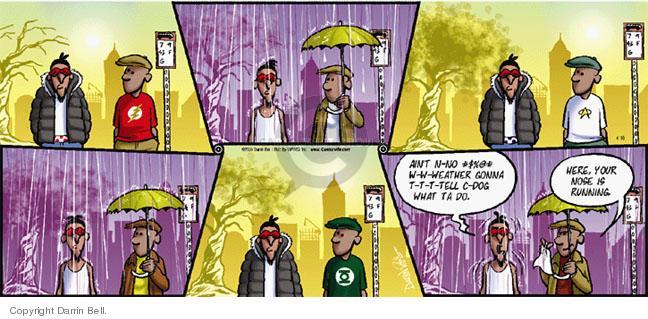 Comic Strip Darrin Bell  Candorville 2005-04-10 sunshine