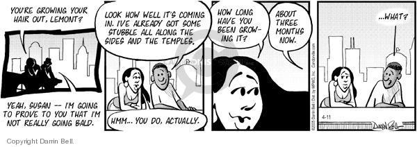Comic Strip Darrin Bell  Candorville 2005-04-11 yeah
