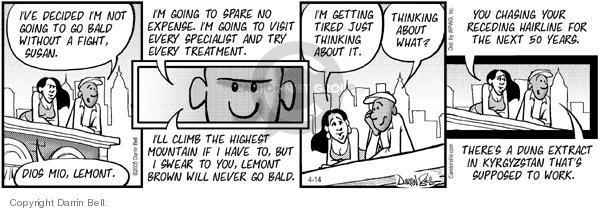 Comic Strip Darrin Bell  Candorville 2005-04-14 mountain