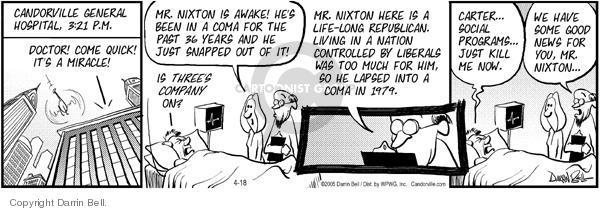 Comic Strip Darrin Bell  Candorville 2005-04-18 3-D