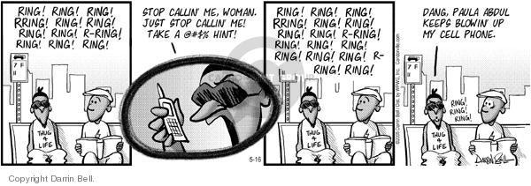 Comic Strip Darrin Bell  Candorville 2005-05-16 stalk