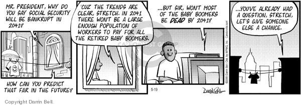 Comic Strip Darrin Bell  Candorville 2005-05-19 prediction