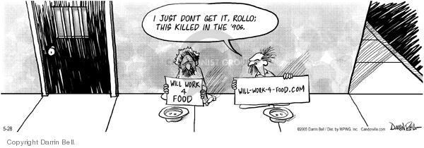 Comic Strip Darrin Bell  Candorville 2005-05-28 world poverty