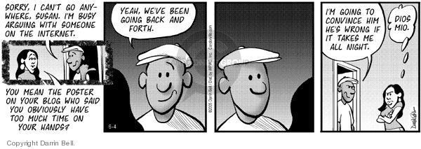 Comic Strip Darrin Bell  Candorville 2005-06-04 exchange