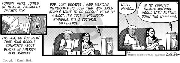 Comic Strip Darrin Bell  Candorville 2005-06-06 ethnic rights