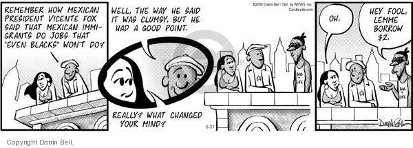 Comic Strip Darrin Bell  Candorville 2005-06-21 civil rights