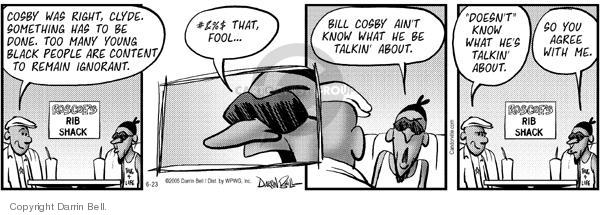 Comic Strip Darrin Bell  Candorville 2005-06-23 remain