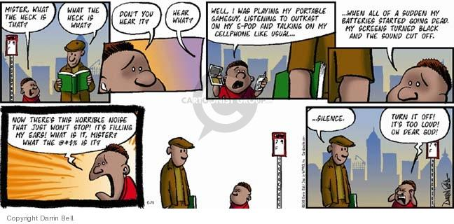 Comic Strip Darrin Bell  Candorville 2005-06-26 loudness