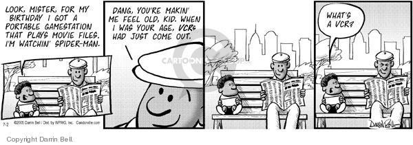Comic Strip Darrin Bell  Candorville 2005-07-02 young man