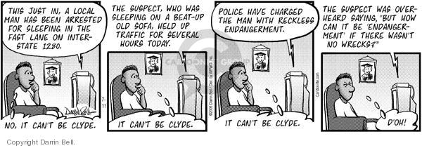 Comic Strip Darrin Bell  Candorville 2005-07-11 fast