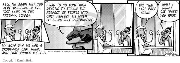 Comic Strip Darrin Bell  Candorville 2005-07-13 destructive