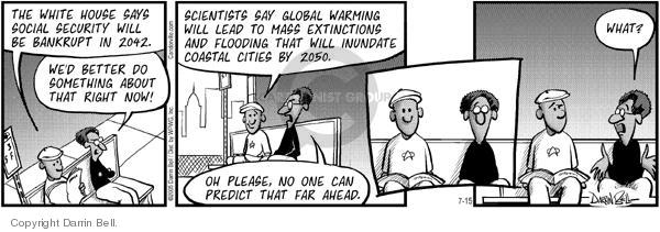 Comic Strip Darrin Bell  Candorville 2005-07-15 prediction